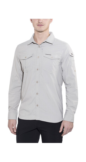 Craghoppers Nosilife Adventure LS Shirt Men Parchment